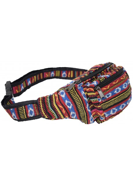 Gheri Waist Cotton Bum Bag F