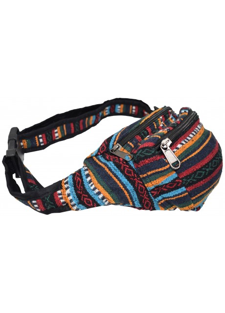 Gheri Waist Cotton Bum Bag A