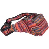 Gheri Waist Cotton Bum Bag J