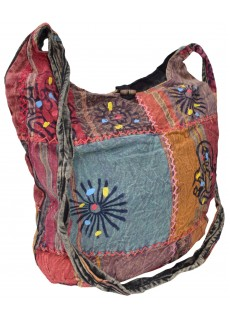 Cotton Patchwork Stitched Bag