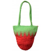 Felt Strawberry Bag