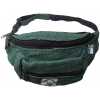 Pure Hemp Green Bum Bag
