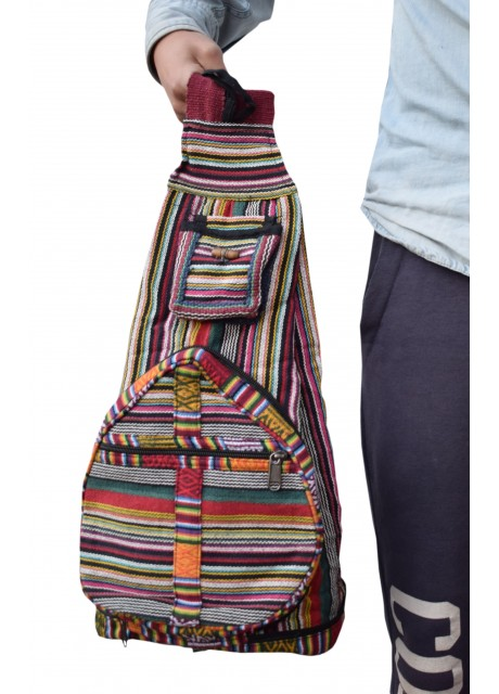 Cotton Pillow Bag/Backpack Large