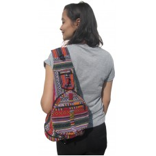 Cotton Pillow Bag/Backpack Small