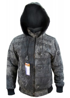 OM Hare Rama Black Jacket