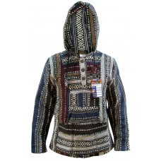 Blue Mix Baja Hoody