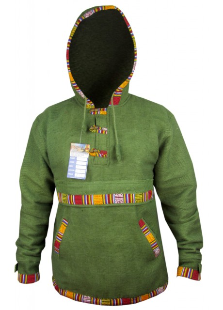 Ofal Green Pullover