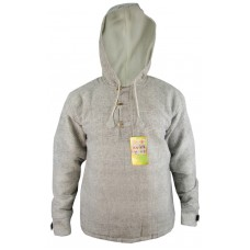 Light Grey Three Button BTC Pullover