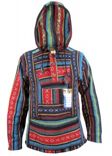 Red Mix Baja Hoody
