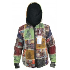 Small Patch Cotton Jacket