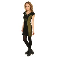 V Neck Inverted Chakra Dress