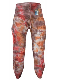 Tiedye Brown Red Chudidar
