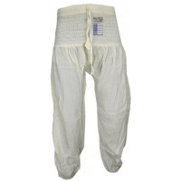 Plain Cream Genie Pants