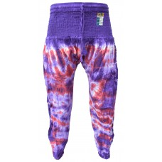 Tiedye Purple Red Chudidar