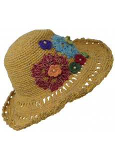 Hemp Cotton Panama Straw Hat C