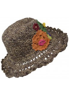 Hemp Cotton Panama Straw Hat F