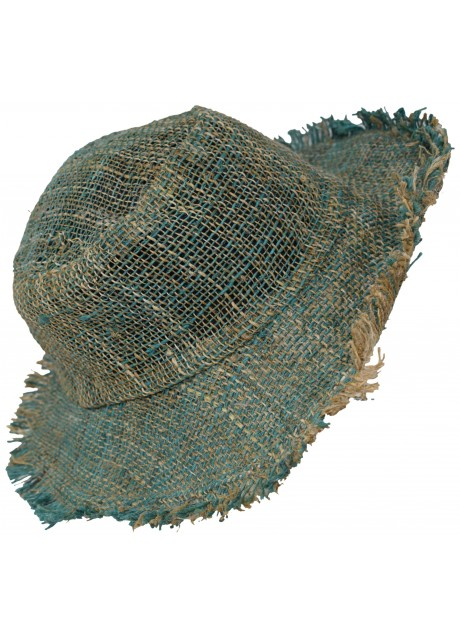100% Hemp Straw Hat A