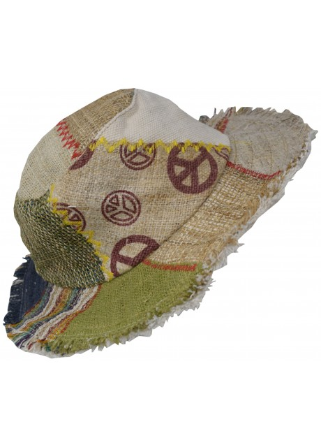 100% Hemp Straw Hat I