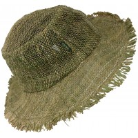 100% Hemp Straw Hat L