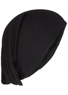 Stretchable Beanie Cotton Hat Black