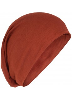 Stretchable Beanie Cotton Hat Red