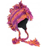 Fringes Mohawk Hand Knitted Wolly Hat B
