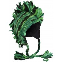 Fringes Mohawk Hand Knitted Wolly Hat E