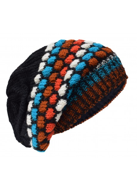 Bubbleknit Eye Candy Beanie Woolly Hat