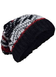 Snowflake Fleece Lined Beanie Woolly Hat E