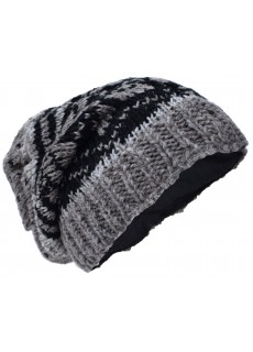 Snowflake Fleece Lined Beanie Woolly Hat K