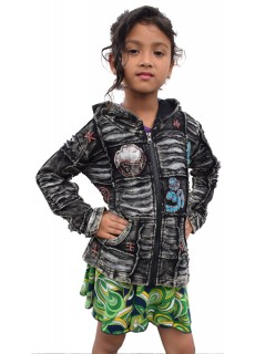 Kids Black OM Hoody