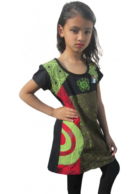 Kids Butterfly Embroidery Dress