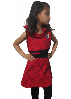 Kids Red Hoody  Dress
