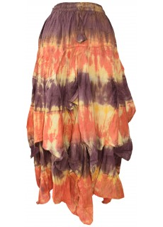 Tie Dye Double Layered  Skirt B