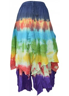 Tie Dye Double Layered  Skirt F