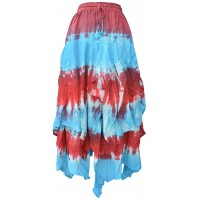 Tie Dye Double Layered  Skirt D
