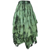 Tie Dye Double Layered Skirt E