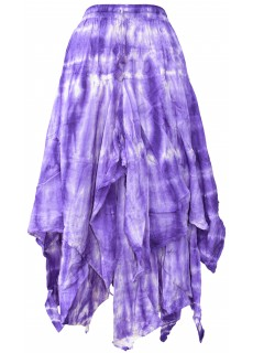Tie Dye Double Layered  Skirt G