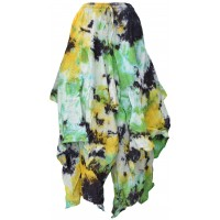 Tie Dye Double Layered  Skirt H