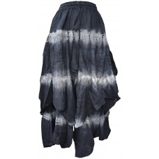 Tie Dye Double Layered  Skirt A