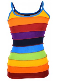 Rainbow Stripey Tank Top