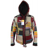 Tiedye Rainbow Patch Woolen Jumper