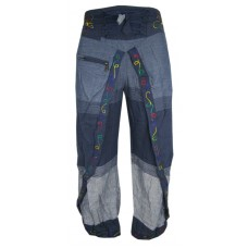 Blue Blue Wrap Around Trousers