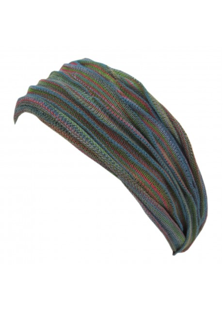 Blue Green Mix Double Headband