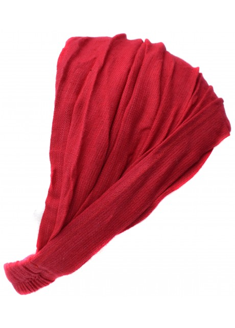 Elastic Headband Plain Red