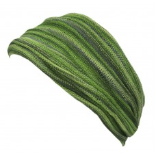 Green Tiedye Double Headband