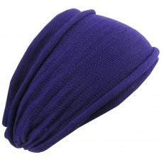 Plain Purple Double Headband