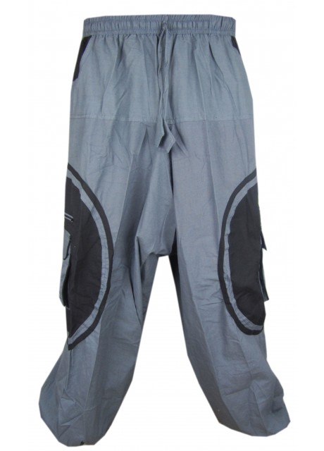 OM Symbolic Pants Grey