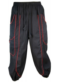 Black Baggy Trouser