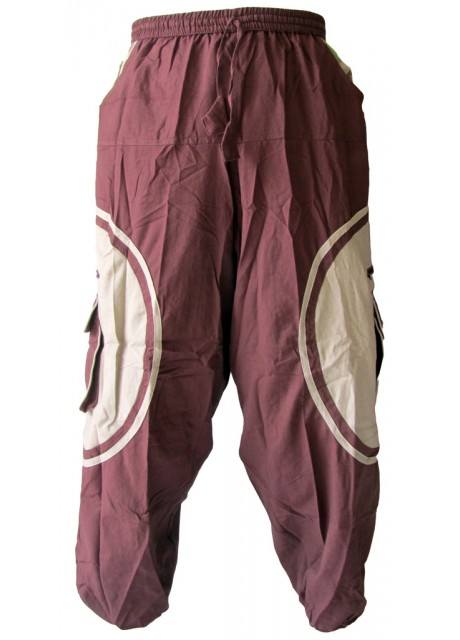 OM Symbolic Pants Brown